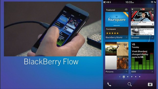 BlackBerry 10 is all about the flow of tasks