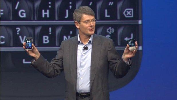Thorsten Heins unveils BlackBerry 10