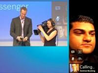 Vivek starting a BBM video conference