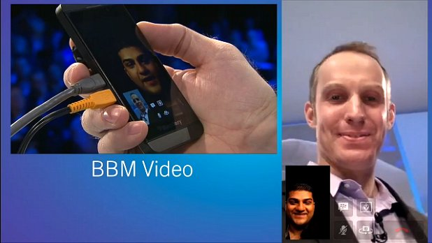 BlackBerry 10 BBM video conference
