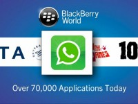 WhatsApp supports BlackBerry 10