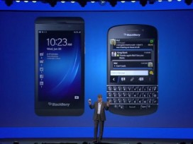 Thorsten Heins unveils the BB10