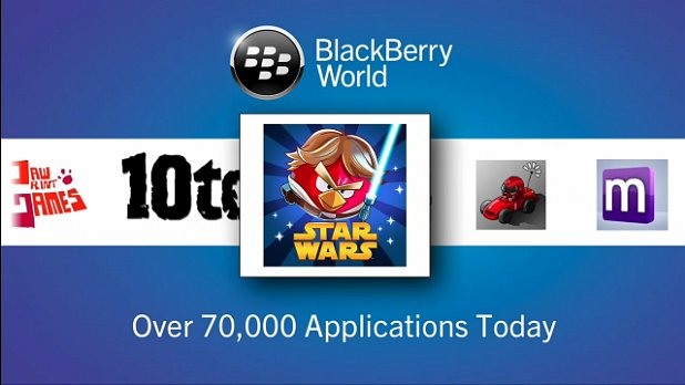 Angry Birds supports BlackBerry 10
