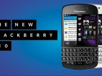BlackBerry 10 Q10 model with keyboard