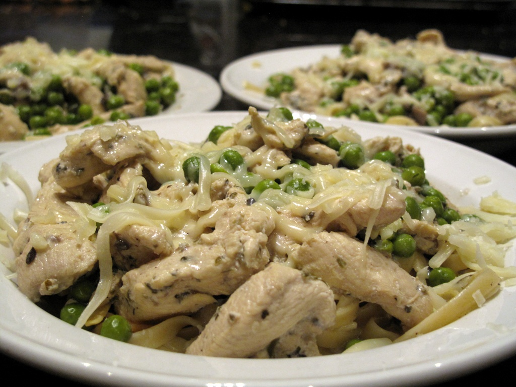 chicken fettuccini alfredo recipe � dishmaps