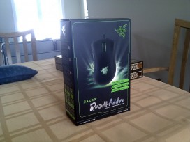 The DeathAdder box.