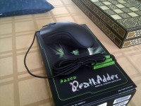 The DeathAdder unboxed.