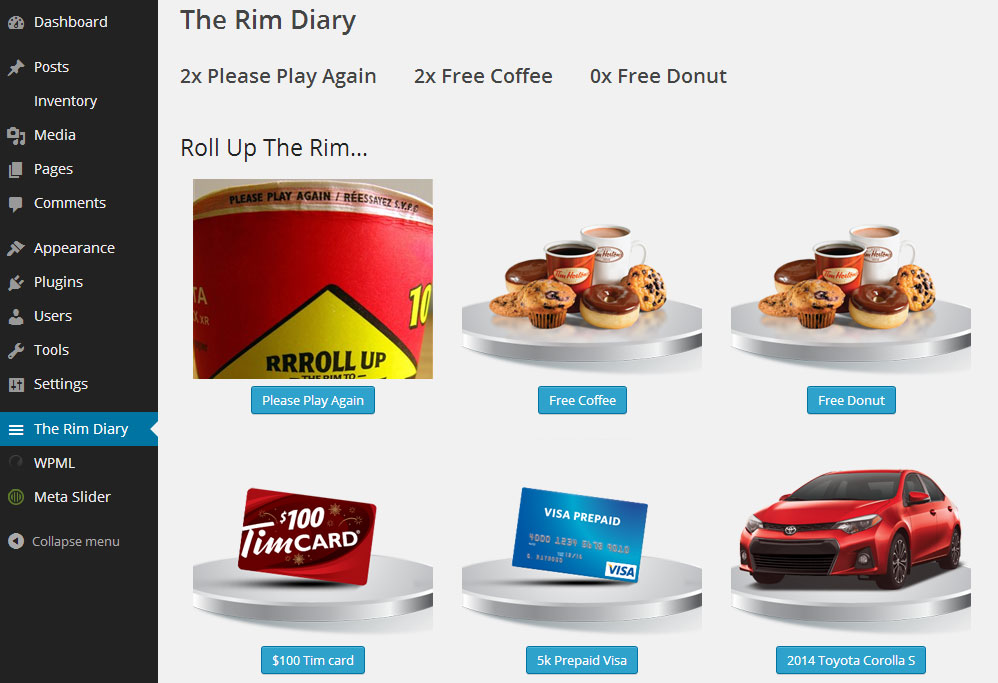 Easily log your rims with this plugin