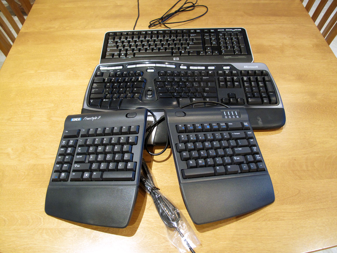 Computer input devices has introduced freestyle a range - The Freestyle
